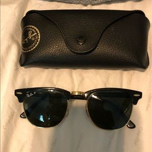 Ray- Ban Polarized Club Master Sunglasses